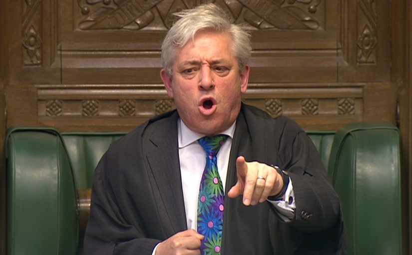 A Very British Coup – The Speaker of the House of Commons and the Brexit Crisis